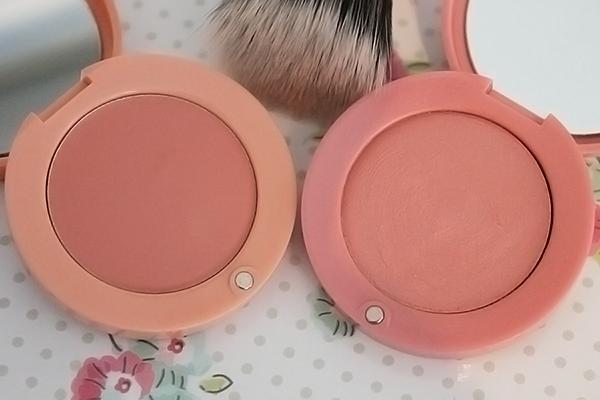 Bourjois Cream Blush in 01 Nude Velvet and 03 Rose Tender
