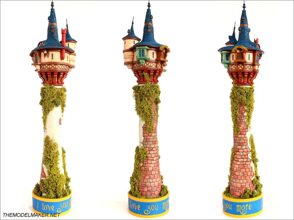 Custom Made Model Of Rapunzel Tower From Disney Animation Tangled Steemit