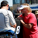 Jimmie Johnson Sammy Hagar