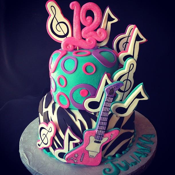 Walmart Rockstar Birthday Cakes