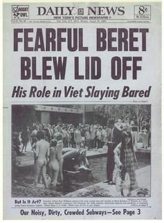 Tapa del Daily News  1969