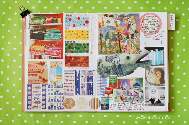 Glue Book: Fabric collections