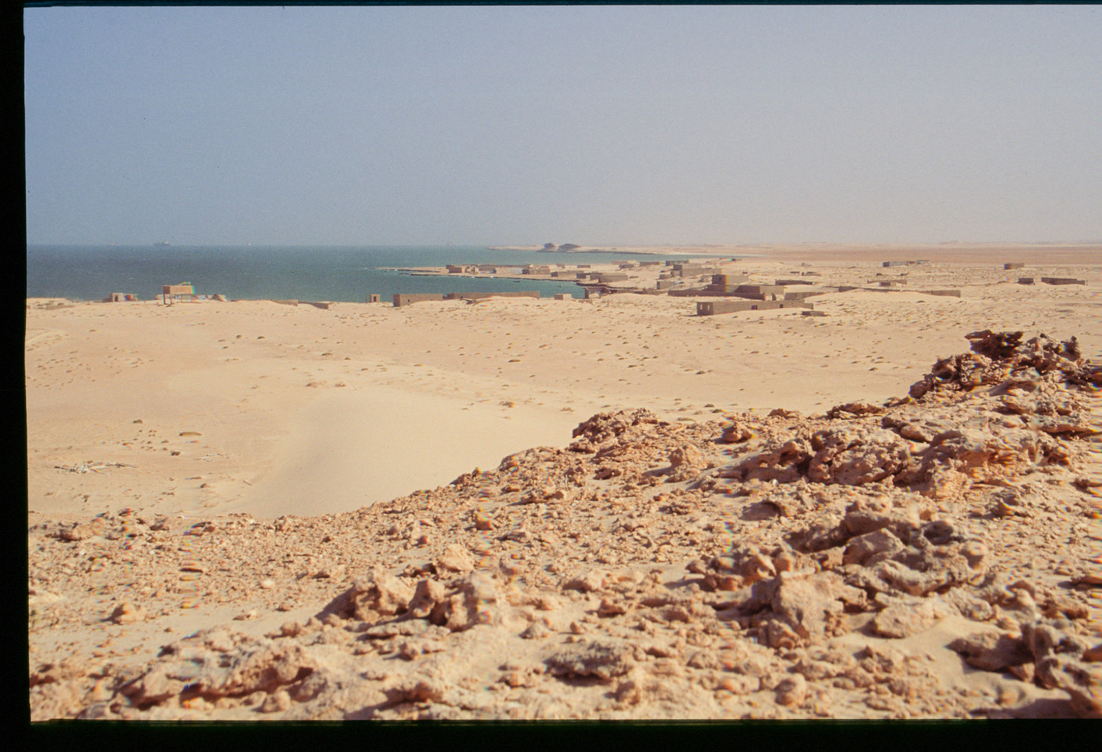 Mauritanie - Banc d'Arguin - Panorama sur la côte