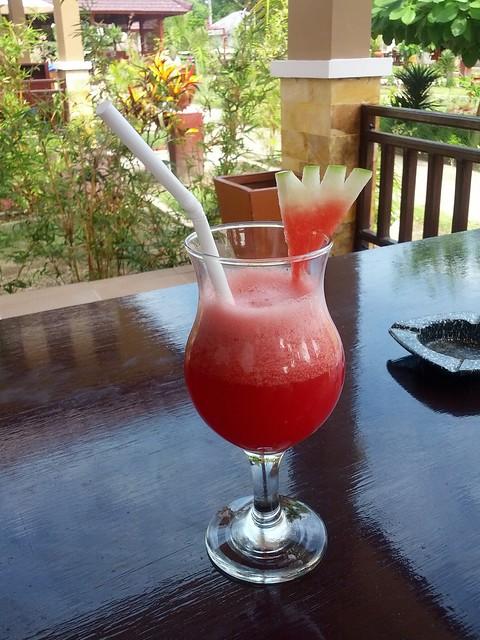 Арбузный welcome-drink