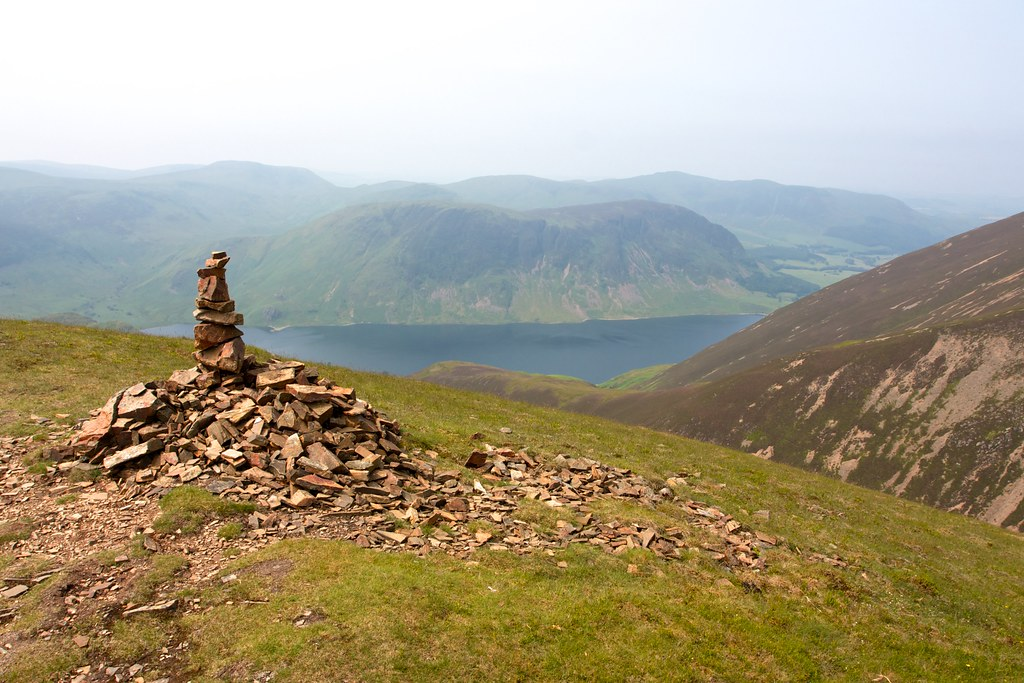 Cairn above Whiteless Edge