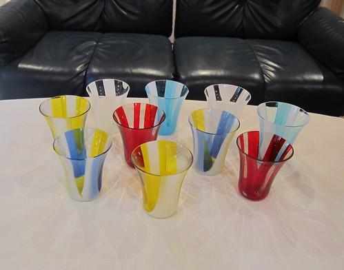 お皿とセットになるグラスたち by Poran111