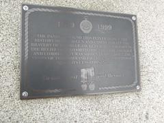 Portsmouth Historic Dockyard - Field Gun - 1899-1999 - Relief of Ladysmith Tournament - bronze plaque