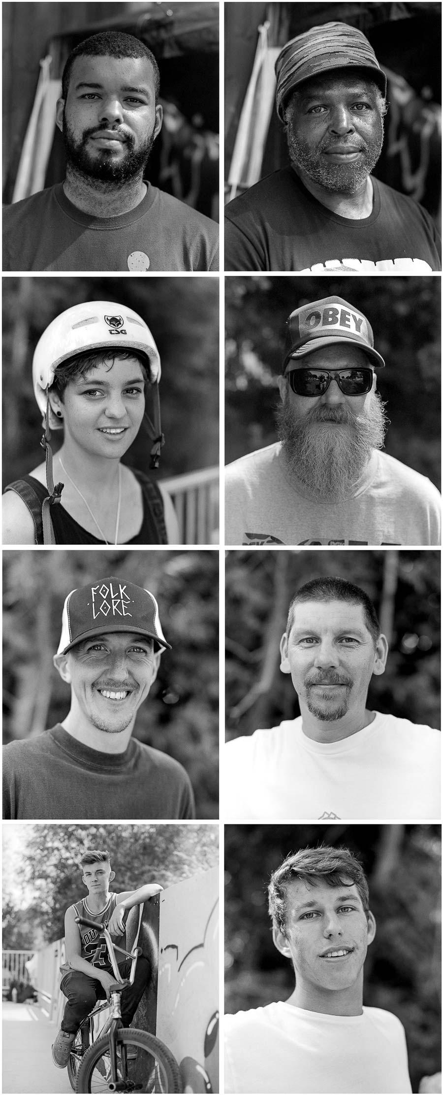 BMX jam portraits