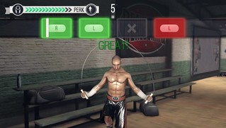 Real Boxing on PS Vita