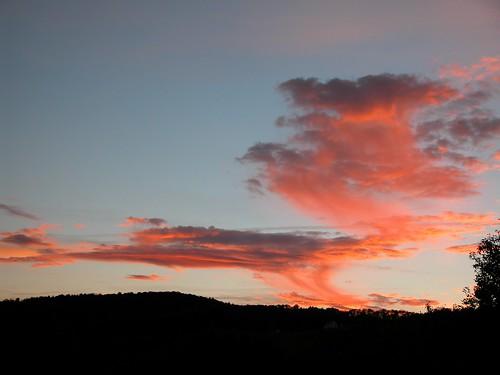 sunset usa landscape vermont quechee