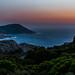 Corsica: South west view from the chapel Notre Dame de la Serra near Calvi