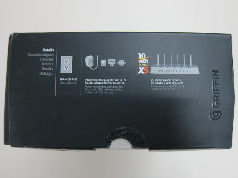 Griffin PowerDock 5 - Missing Interchangeable Plugs