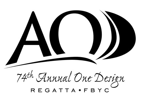74th Annual One Design Regatta Logo