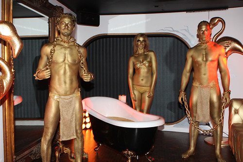 Johnnie Walker Gold Bullion Body Painting Sydney by Eva Rinaldi Celebrity and Live Music Photographer
