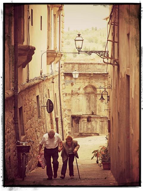 Going to the market of Monte San Savino