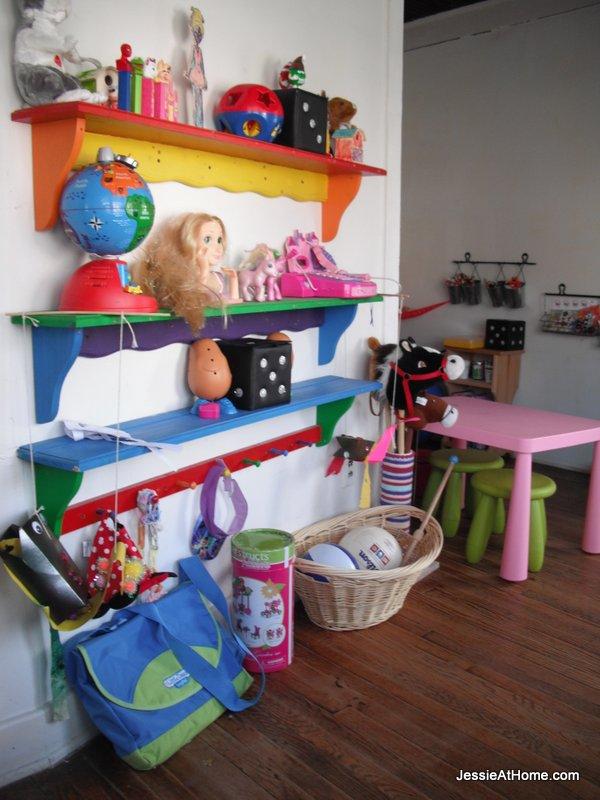 rainbow-shelves