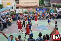 Equipo Los Tejadas, campeón de la final 2do. Torneo de Baloncesto Juan López