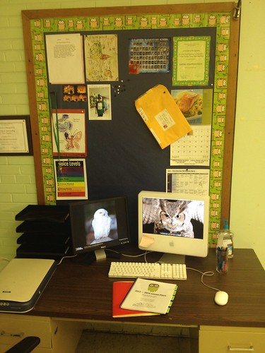 Teacher work area
