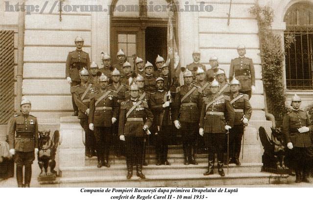 Pompieri Bucuresti 1933