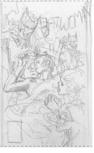 Batwoman23cover-rough
