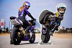 supermoto(0.0), automobile(1.0), superbike racing(1.0), racing(1.0), vehicle(1.0), sports(1.0), race(1.0), motorcycle(1.0), road racing(1.0), extreme sport(1.0), motorcycling(1.0), stunt performer(1.0), stunt(1.0),