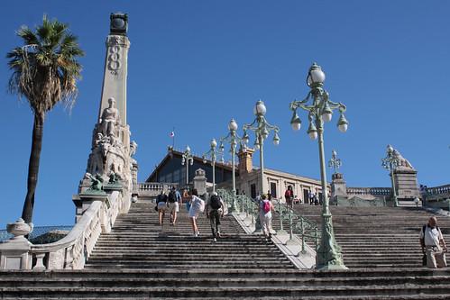 Marseille 061 Bahnhofstreppe