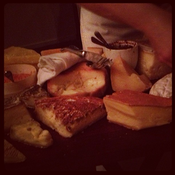 That is all cheese. YES.