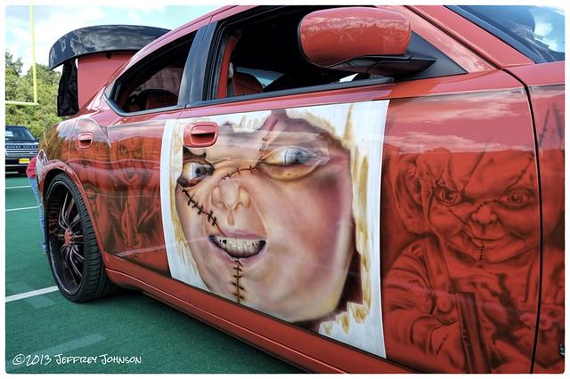 Redskins Rides Car Show 2013 Dodge Charger Srt Child S