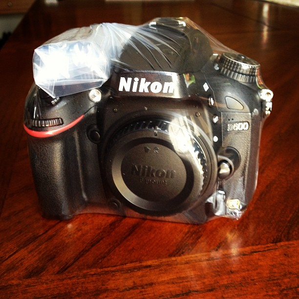 My #Nikon is Back from Nikon Service. Hoping no more sensor issues. #d600