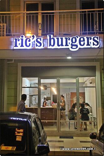 Ric's Burger @ Bayan Baru