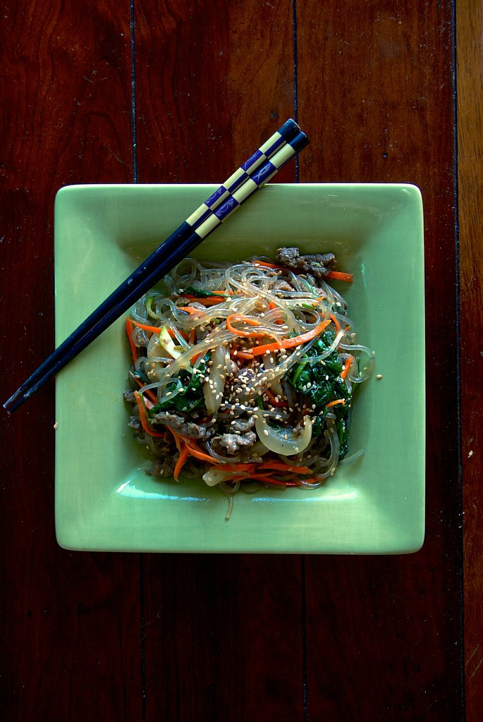 how to cook chapchae noodles
