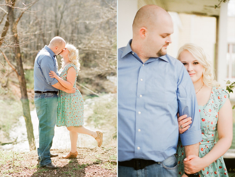 Madison and Paul - Him and Honey - Nashville Tennessee Film Portrait Photography