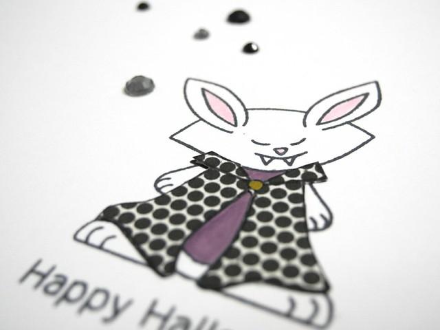 Vampire Bunny (detail)