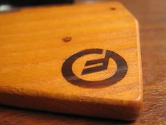 Moog on wood