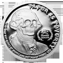 Deluminati coin obverse