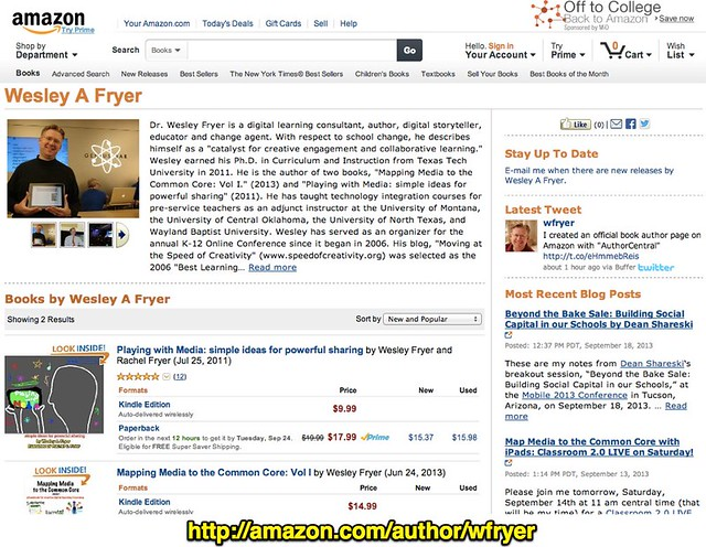 Amazon.com: Wesley A Fryer: Books, Biography, Blog, Audiobooks, Kindle