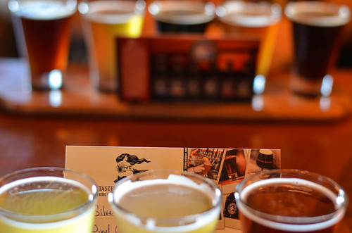 Coronado Brewing Company Flights