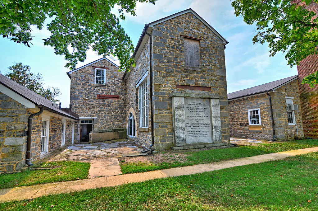 Old Lock Pump House, Chesapeake and Delaware Canal