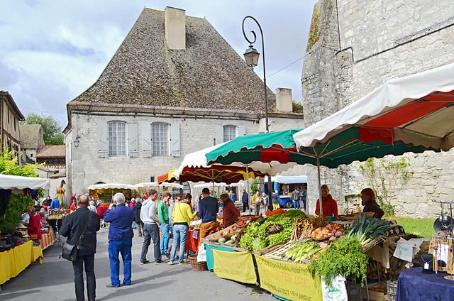 Issigeac Market, Dordogne, France