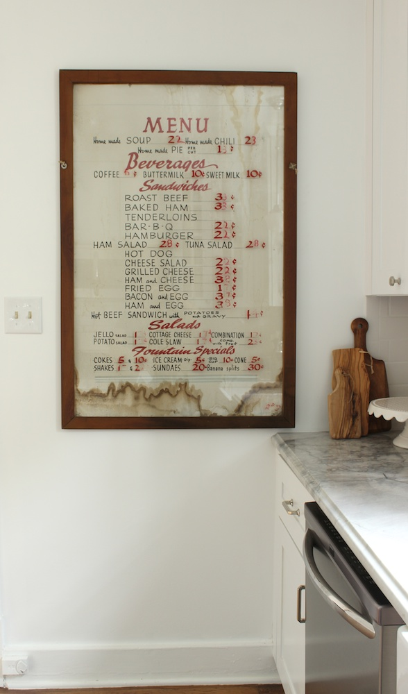 Kitchen Menu 2