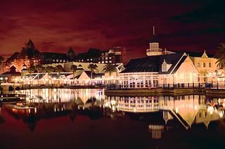 Port Elizabeth & Red Sky