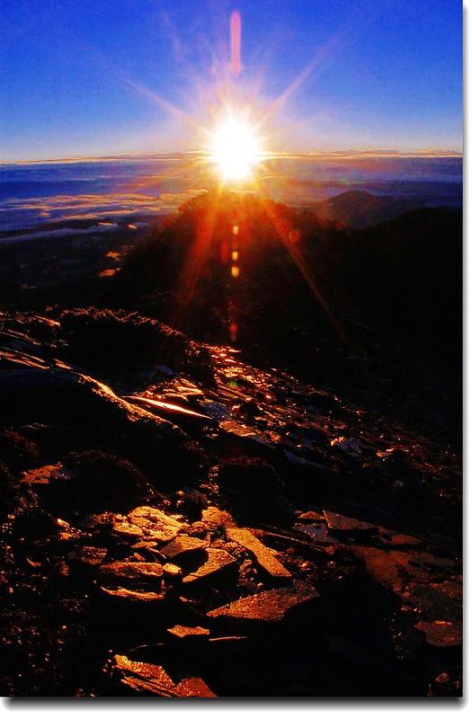 南湖東峰觀日出 8
