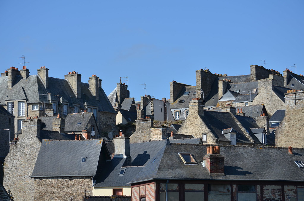 Dinan Rooftops