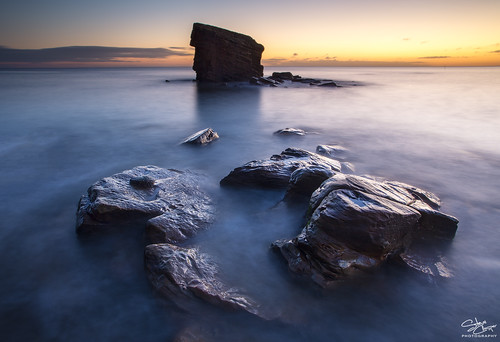 uk longexposure seascape sunrise dawn coast rocks north stack coastal northern northeast seatonsluice collywellbay charliesgarden steveclasper