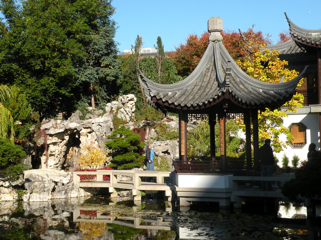 Chinese Garden Portland Oregon Flickr Photo Sharing