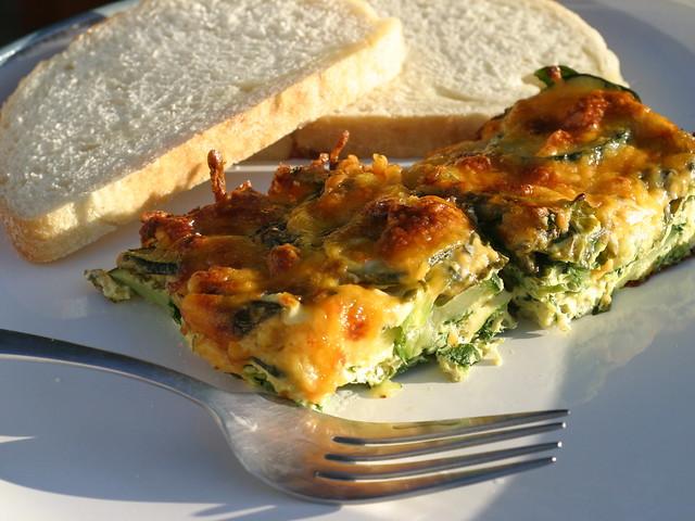 Frittata di Zucchine Bimby al Varoma
