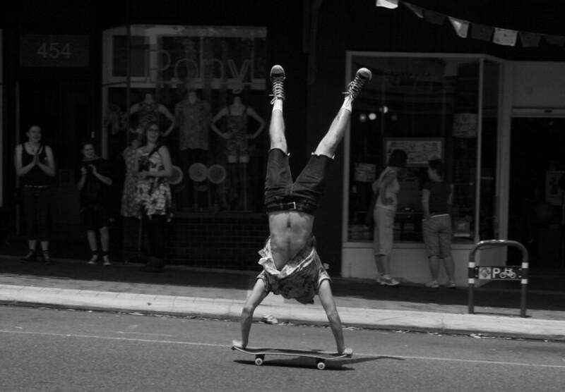 Skate BW