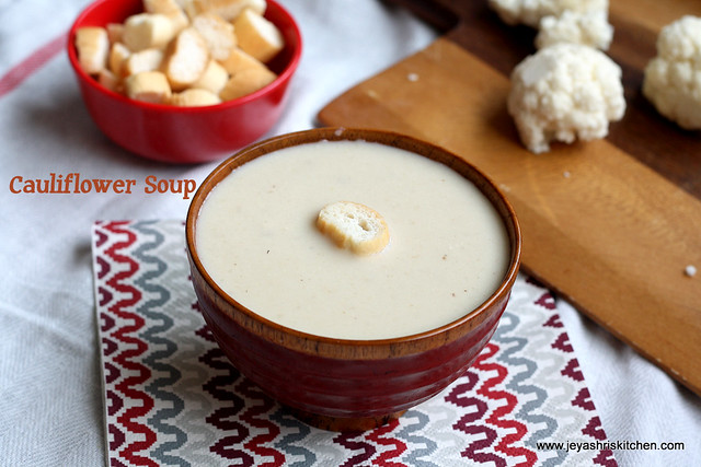 Cauliflower -Soup