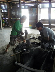 Inle-Blacksmith shop workers 1