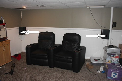 Need Advice On Center And Surround Speaker Height And